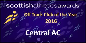 Off Track Club of the Year 2016