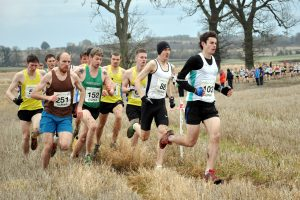 Senior men in 2012,  the Central finishers; Russell, Houston, Hendry, Millar, Butchart and Reilly