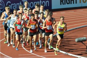 Andrew Butchart leading the pack