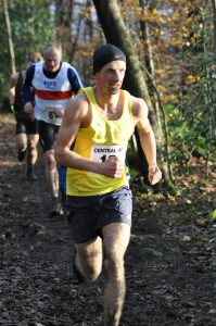 Matt Sutherland in the Senior Men