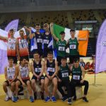 Senior Boys podium