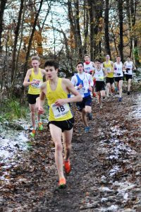 Tom Graham-Marr and Ben MacMillan in the U17 Boys