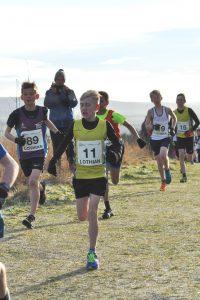 Under-15 Boys race