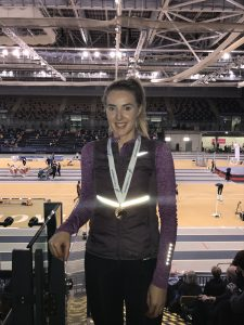 Amy Gullen - high jump bronze