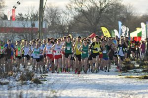 Start of the Senior Men's race