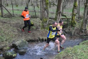 Talat Aidi, Charles Graham-Marr and Colin Alexander tussle at the water