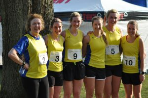 A selection of the Senior Women's team