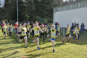 A fast start for the combined Under-13 boys and Under-13 girls start