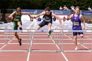 Under-16 100m hurdles