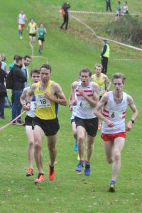 Senior Men: Alastair Hay in leading group