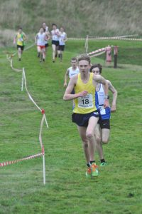 Ben MacMillan in Under-17 Men's race