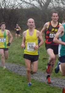 Scott Brember (18) - winning Masters Men