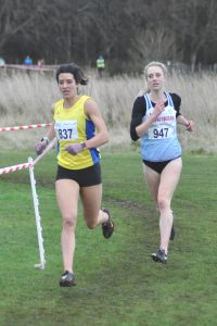 Morag Millar (837) leads from Gemma Reekie