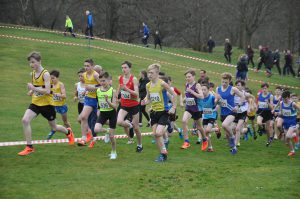 Under 13 Boys race