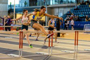 Briagha Cook in 60 Metres Hurdles